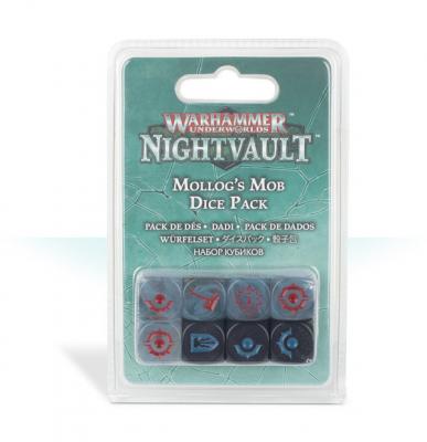 Warhammer Underworlds: Nightvault - Mollog's Mob Dice Pack