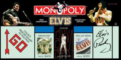 Monopoly: Elvis Presley 25th Anniversary