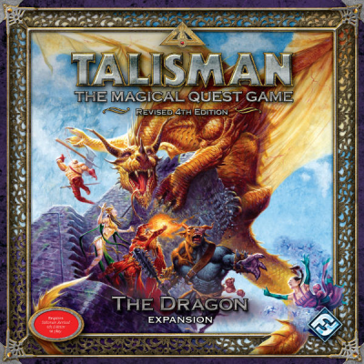 Talisman (fourth edition): Die Drachen