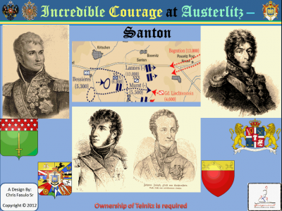 Incredible Courage at Austerlitz: Santon