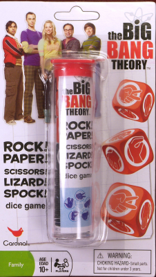The Big Bang Theory: Rock! Paper! Scissors! Lizard! Spock! Dice Game