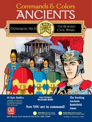 Commands & Colors: Ancients Expansion Pack #3: The Roman Civil Wars