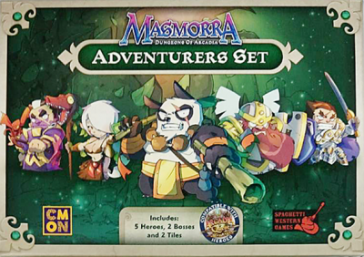 Masmorra: Dungeons of Arcadia – Adventurers Set