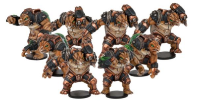 Dreadball: Teraton Team
