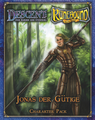 Descent / Runebound / Runewars Figure: Jonas the Kind