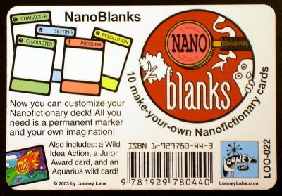 NanoBlanks