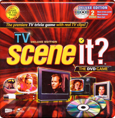 Scene It? TV  Deluxe Edition