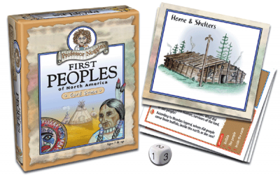 Professor Noggin's First Peoples of North America Card Game