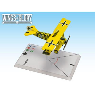 Wings of Glory: WW1 Airplane Pack - Fokker D.VIII (Sachsenberg)