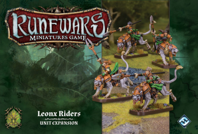 Runewars: The Miniatures Game - Leonx Riders