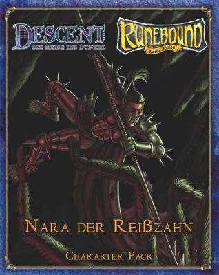 Descent / Runebound / Runewars Figure : Nara The Fang