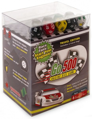 Go 500 Racing Dice Game