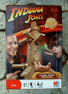 Indiana Jones Akator Temple Race Game