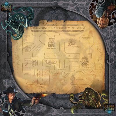 Elder Sign: Museum Gamemat