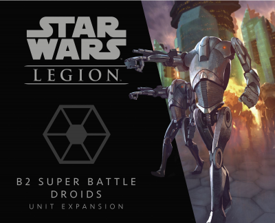 Star Wars: Legion – B2 Super Battle Droids Unit Expansion