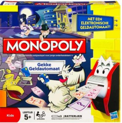 Monopoly: Der verrückte Geldautomat