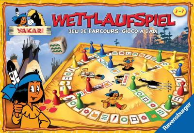 Yakari Wettlaufspiel