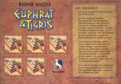 Euphrat & Tigris: Die Zikkurat
