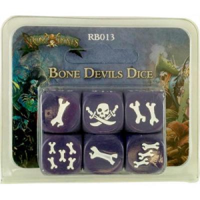 Rum & Bones: Bone Devils - Dice