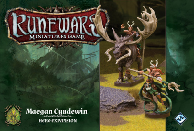 Runewars: The Miniatures Game - Maegan Cyndewin