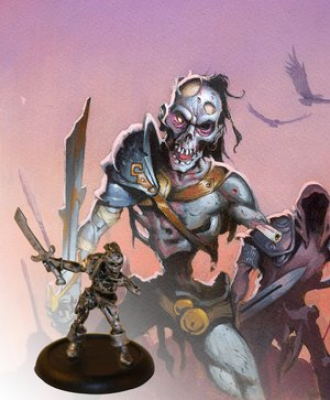 Descent: Road to Legend Lieutenants - Krieg the Relentless