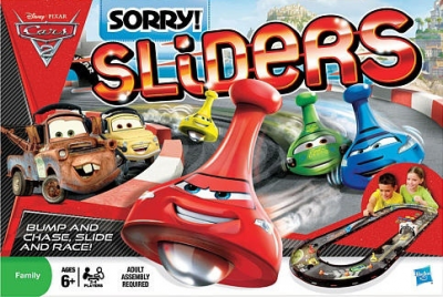 Disney Pixar Cars 2 Sorry Sliders: World Grand Prix Race Edition