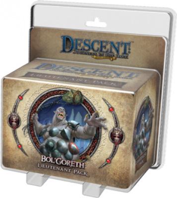 Descent: Journeys in the Dark (Second Edition) - Bol'Goreth Lieutenant Pack