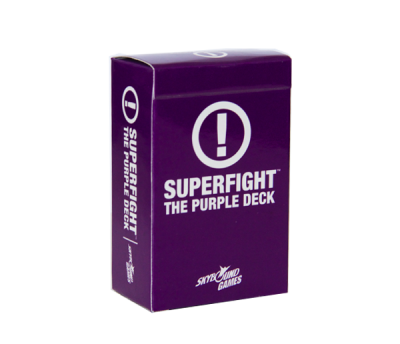 SUPERFIGHT! The Purple Deck