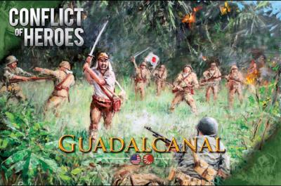 Conflict of Heroes:  Guadalcanal – Pacific Ocean 1942