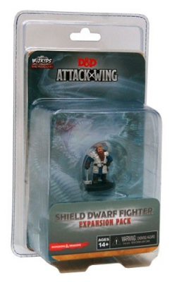 Dungeons & Dragons: Attack Wing – Shield Dwarf Fighter Expansion Pack