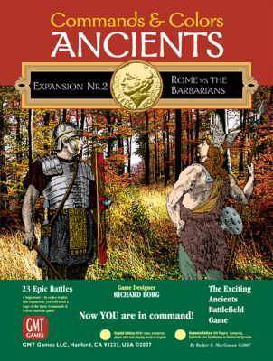 Commands & Colors: Ancients Expansion Pack #2: Rome and the Barbarians