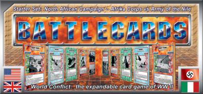Battlecards: World Conflict – North African Campaign – Starter Set