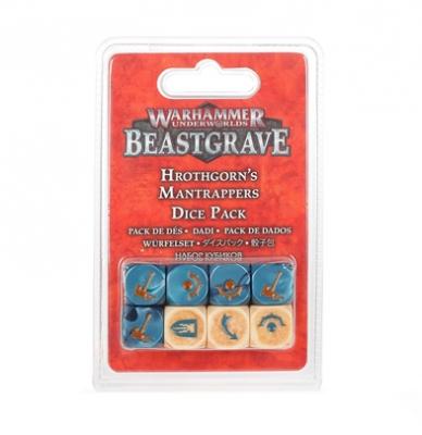 Warhammer Underworlds: Beastgrave - Hrothgorn's Mantrappers Dice Set