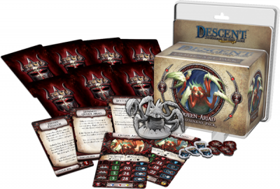 Descent: Journeys in the Dark (Second Edition) - Queen Ariad Lieutenant Pack