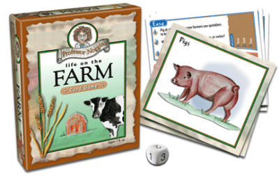 Professor Noggin's Life on the Farm