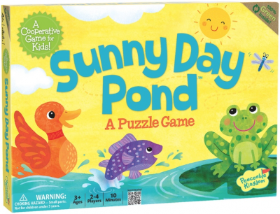 Sunny Day Pond: A Puzzle Game