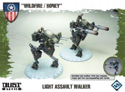 """Dust Tactics: Light Assault Walker - """"Wildfire / Honey"""""""