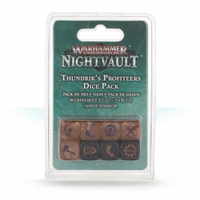Warhammer Underworlds: Nightvault - Thundrik's Profiteers Dice Set