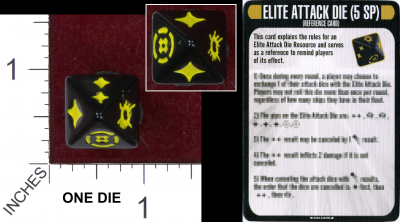 Star Trek: Attack Wing – Elite Attack Die Resource