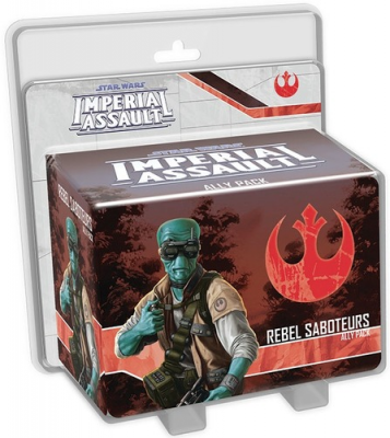 Star Wars Imperial Assault: Rebel Saboteurs Ally Pack