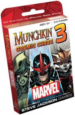 Munchkin Marvel 3: Cosmic Chaos