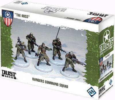 "Dust Tactics: Rangers Command Squad - ""The Boss"""