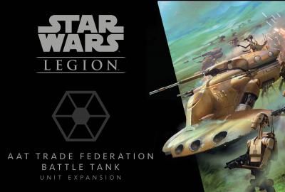 Star Wars: Legion – AAT Trade Federation Battle Tank Unit Expansion