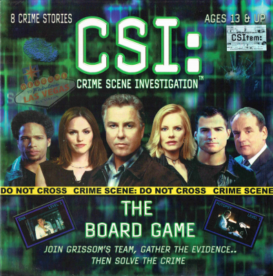 CSI: Crime Scene Investigation Boardgame