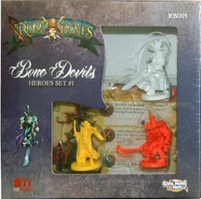 Rum & Bones: Bone Devils - Hero Set
