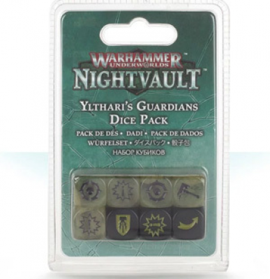 Warhammer Underworlds: Nightvault - Ylthari's Guardians Dice Set