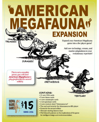 American Megafauna (second edition) Expansion Set