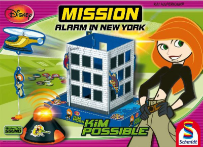 Kim Possible Mission Alarm in New York