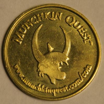 Munchkin Quest Gold Piece