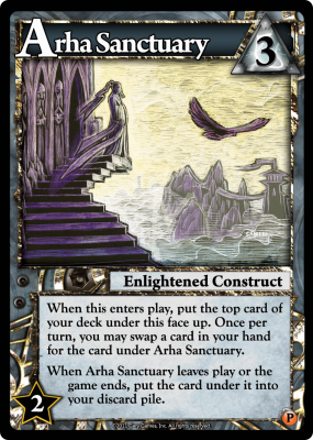 Ascension: Immortal Heroes – Arha Sanctuary Promo Card